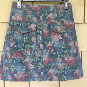 ANTHROPOLOGIE Erin Fetherston skirt Size 4